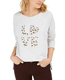 Cotton Graphic Sweatshirt, Created For Macy's