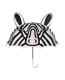 Toddler Girl Zebra Umbrellas
