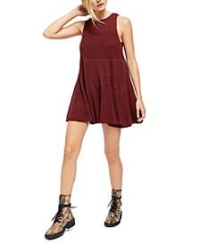 Waterfall Ruffle Mini Dress