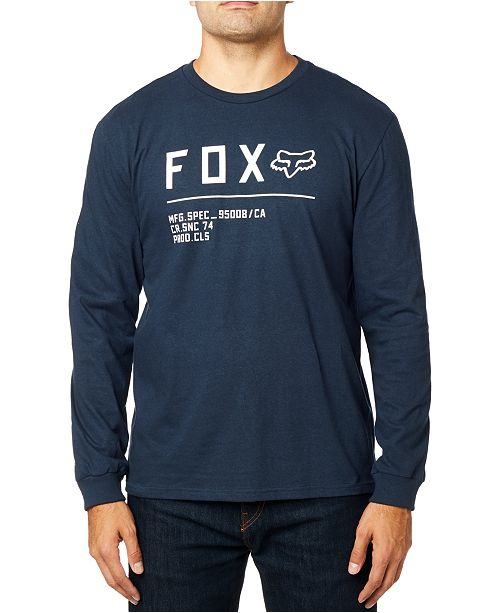 Fox Men's Non Stop Logo Long Sleeve T-Shirt