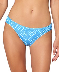 On the Spot Printed Shirred Hipster Bottoms