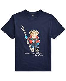 Big Boys Ski Bear Cotton Jersey T-Shirt