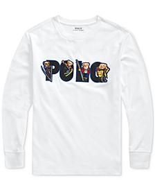 Polo Ralph Boys Ski Bear Cotton Jersey T-Shirt