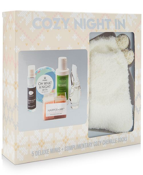 Created For Macy's 6-Pc. Coziest Night In Gift Set, Created for Macy's