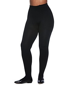 Women's Plus Size The Easy On! Thermal Plush-Lined Tights