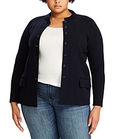 Plus Size Officer's Jacket