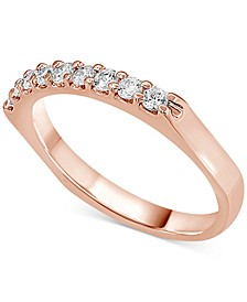 Diamond Band (1/3 ct. t.w.) in 14k white, yellow or rose gold