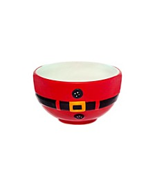 Santa Belt Small Bowl