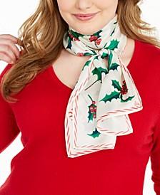 Holly Jolly Silk Oblong Scarf
