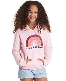 Big Girls Rainbow Hoodie