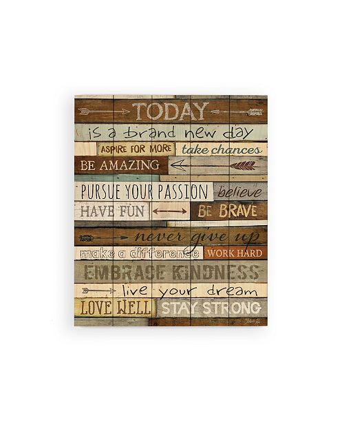 P Graham Dunn Today Is A Brand New Day Wall Art