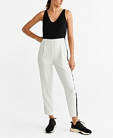 Bicolor Long Jumpsuit