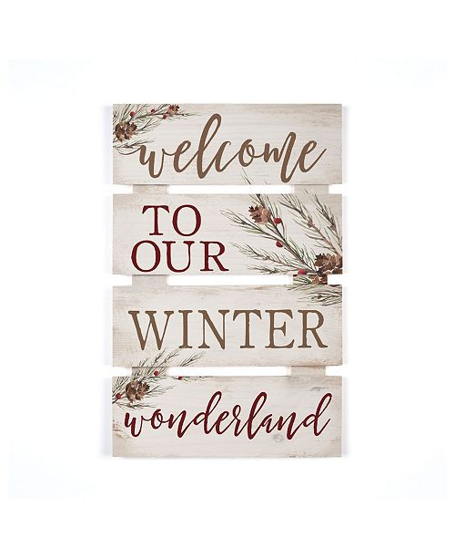 P Graham Dunn Winter Wonderland Wall Art