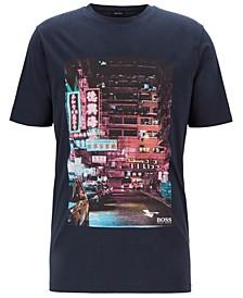 BOSS Men's Toll 1 Regular-Fit Pima-Cotton T-Shirt