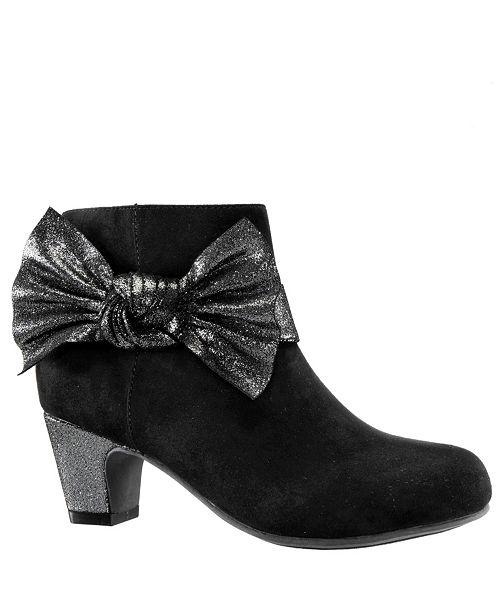 Nina Toddler, Little and  Big Girls Orsula Fashion Dress Heel Boot