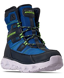 Little Boys S Lights Hypno-Flash 2.0 Super Breeze Breeze Light Up Boots from Finish Line