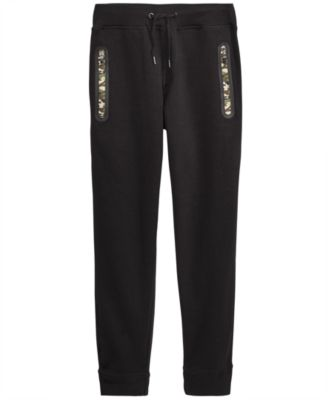 Big Boys Orleans Camo-Zip Joggers
