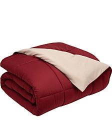 Full/Queen Reversible Down Alternative Comforter