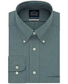 Men's Classic/Regular-Fit Non-Iron Flex Collar Check Dress Shirt