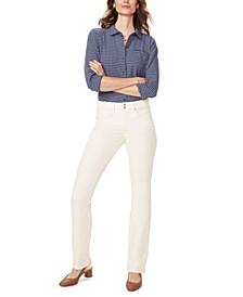 Marilyn Tummy Control Straight-Leg Corduroy Jeans