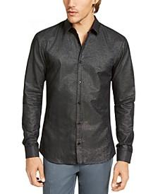 Boss Men's Slim-Fit Metallic Shirt