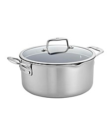 Zwilling Clad CFX 8-Qt. Dutch Oven with Strainer Lid and Pouring Spouts