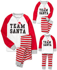 Unisex Team Santa Family Pajama Sets