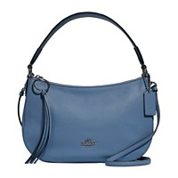 Deals on COACH Sutton Crossbody in Polished Pebble Leather
