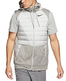 Men's Therma Zip Training Hoodie Vest
