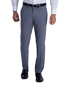 Men's Slim-Fit Stretch Pinstripe Dress Pants