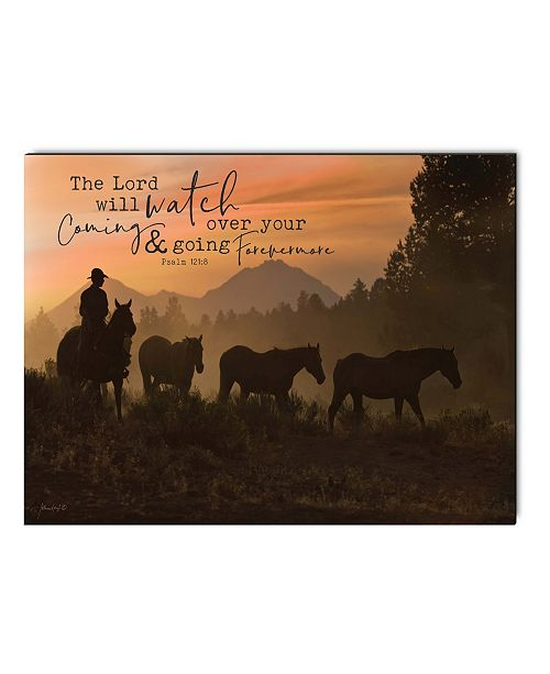 P Graham Dunn The Lord Will Watch Over Your Coming & Going Wall Art