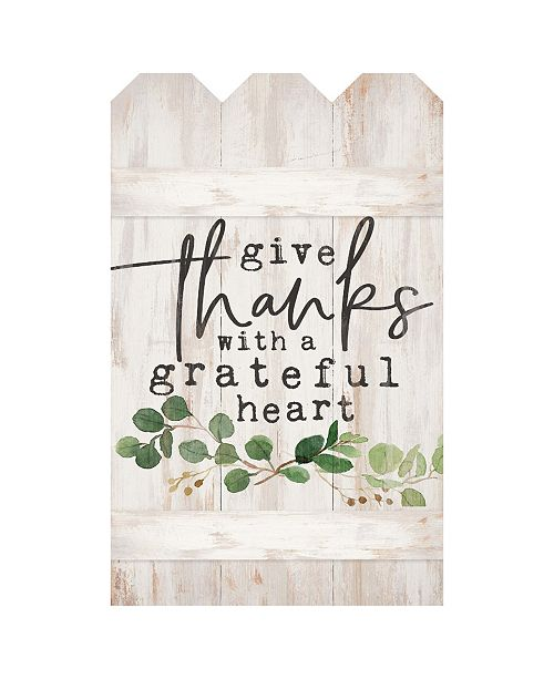 P Graham Dunn Give Thanks With A Grateful Heart Wall Art