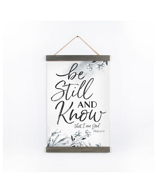 P Graham Dunn Be Still And Know That I Am God Wall Art