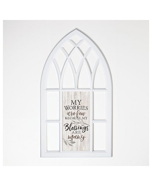 P Graham Dunn My Worries Are Few Because My Blessings Are Many Wall Art
