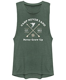 Juniors' Tinkerbell Never Land Tink Festival Muscle Tank Top