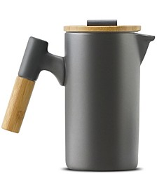Ceramic and Bamboo French Press