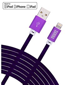 VELVET 6FT Apple Certified Lightning MFI Charging Cable- Iphone/Ipad Charger
