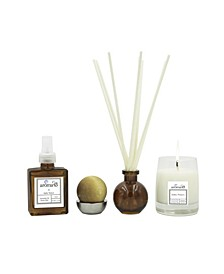 Rhubarb Flower 4-Piece Luxury Fragrance Set