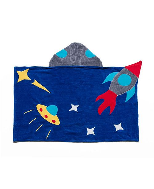 Kidorable Little and Big Boy Space Hero Towel
