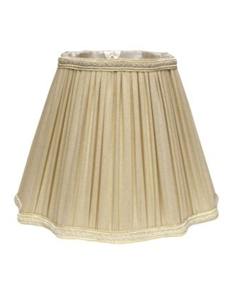 Slant Fancy Square Pleated Softback Lampshade with Washer Fitter