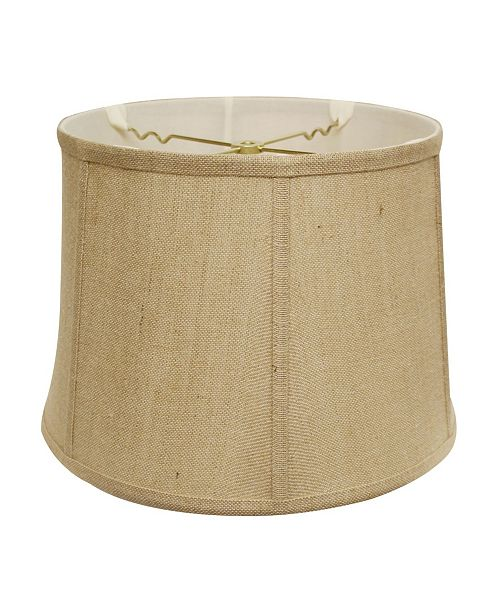Cloth&Wire Slant Retro Drum Softback Lampshade with Washer Fitter