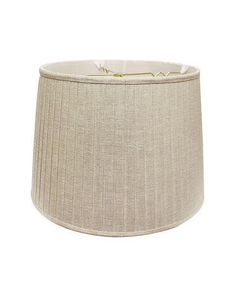 Cloth&Wire Slant Modified Empire Linen Pleat Softback Lampshade Collection