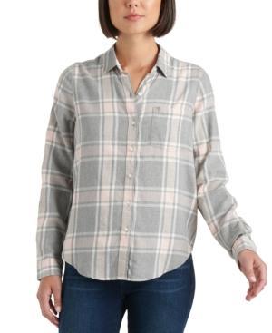 Lucky Brand T-shirts CLASSIC PLAID SHIRT