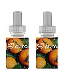 Fragrance Refill  Set of 2 Yuzu Citron