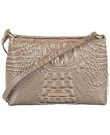 Lorelei Melbourne Embossed Leather Shoulder Bag