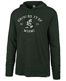 Men's Miami Hurricanes Knockaround Club Long Sleeve Hooded T-Shirt