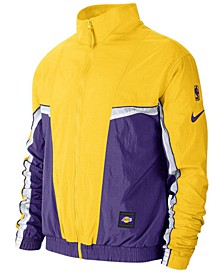 Men's Los Angeles Lakers Courtside Tracksuit Jacket
