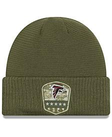 Atlanta Falcons On-Field Salute To Service Cuff Knit Hat