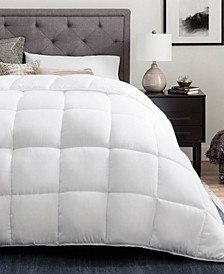 Down Alternative Quilted Comforter with Duvet Tabs, Oversized Queen