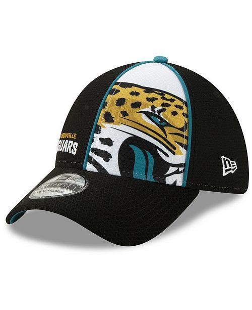 New Era Jacksonville Jaguars Panel 39THIRTY Cap